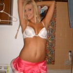 Hot Blonde Teen Babe