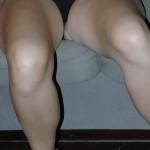 Sandra spreizt gerne überall die Beine