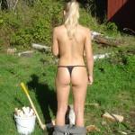 Horny Girl Spreads