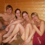 3 Sexy Girls Posing