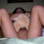Junges Amateur Girl posiert sexy