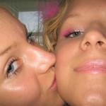 Zwei sexy Blondinen