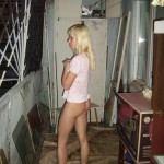 Geiles blondes Amateur Teen