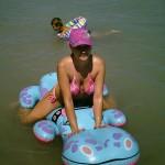 Girl at the Lake