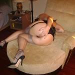 Horny Milf Spreads Legs
