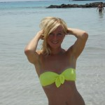 Amateur Blonde on Vacation