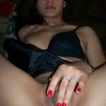 Junge und sexy Latina