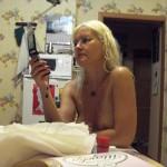 Nacktfotos aus ihrem Urlaub