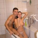 Schlank, sexy und nackt
