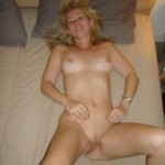 Blonde fucks and shows Body