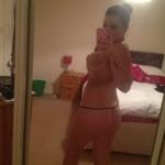Teen macht Nackt Selfies