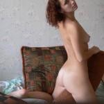Two Sexy Licking Girls using Dildo
