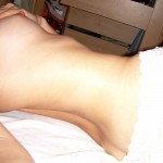 Naked young Girl is fingering herself