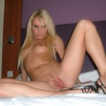 Horny Amateur Blonde
