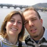 Amateur Paar im Urlaub