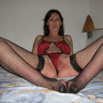 Horny and Wet Amateur Milf