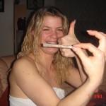 Fingern und Mundfick