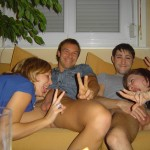 Young Amateur Orgy