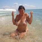 Milf with Huge Boobs