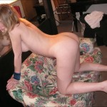 Horny and Spermhungry Blonde