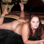Fat Horny girl spreading her Pussy