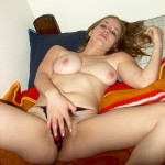 Amateur Girl with Hairy Pussy