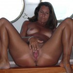 Two Mature Girls Fucking on a Boat