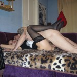 Sexy Oufit, Nylons and Pussy