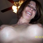Sexy Milf with Fake Tits